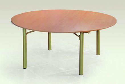 Apvalus sulankstomas stalas ⌀1800
