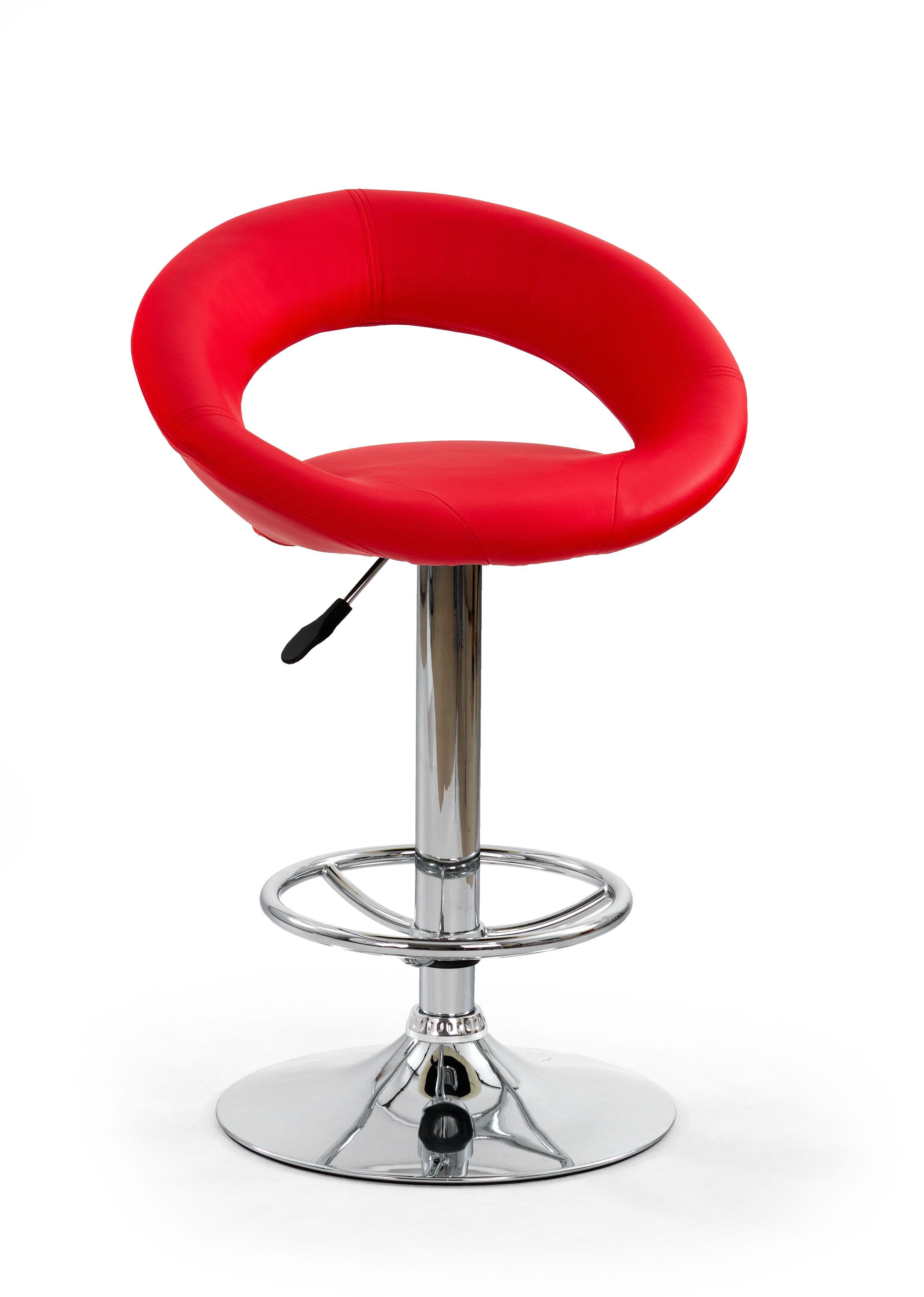 Baro kėdė H-15 raudona