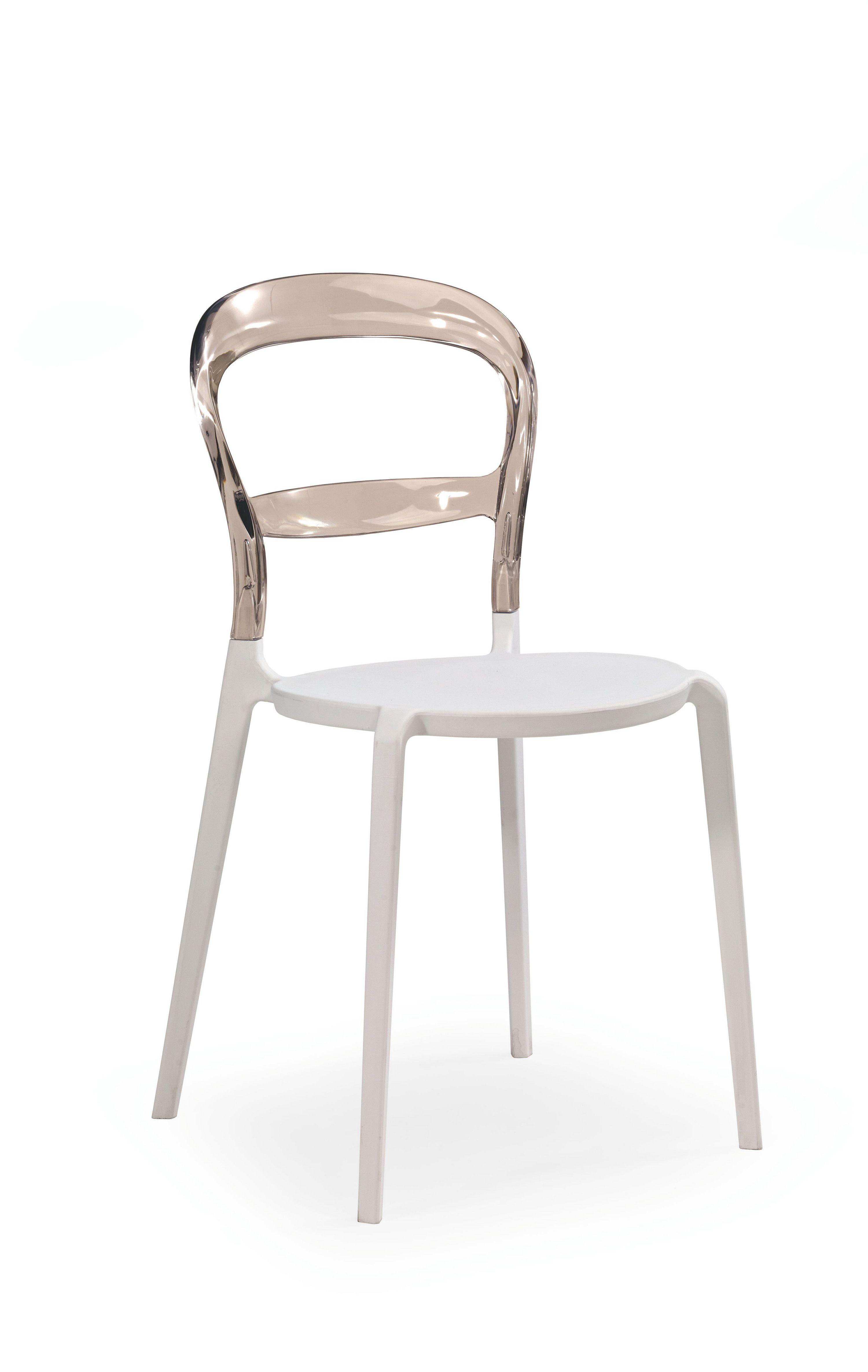 Plastikinė kėdė K100 pilka