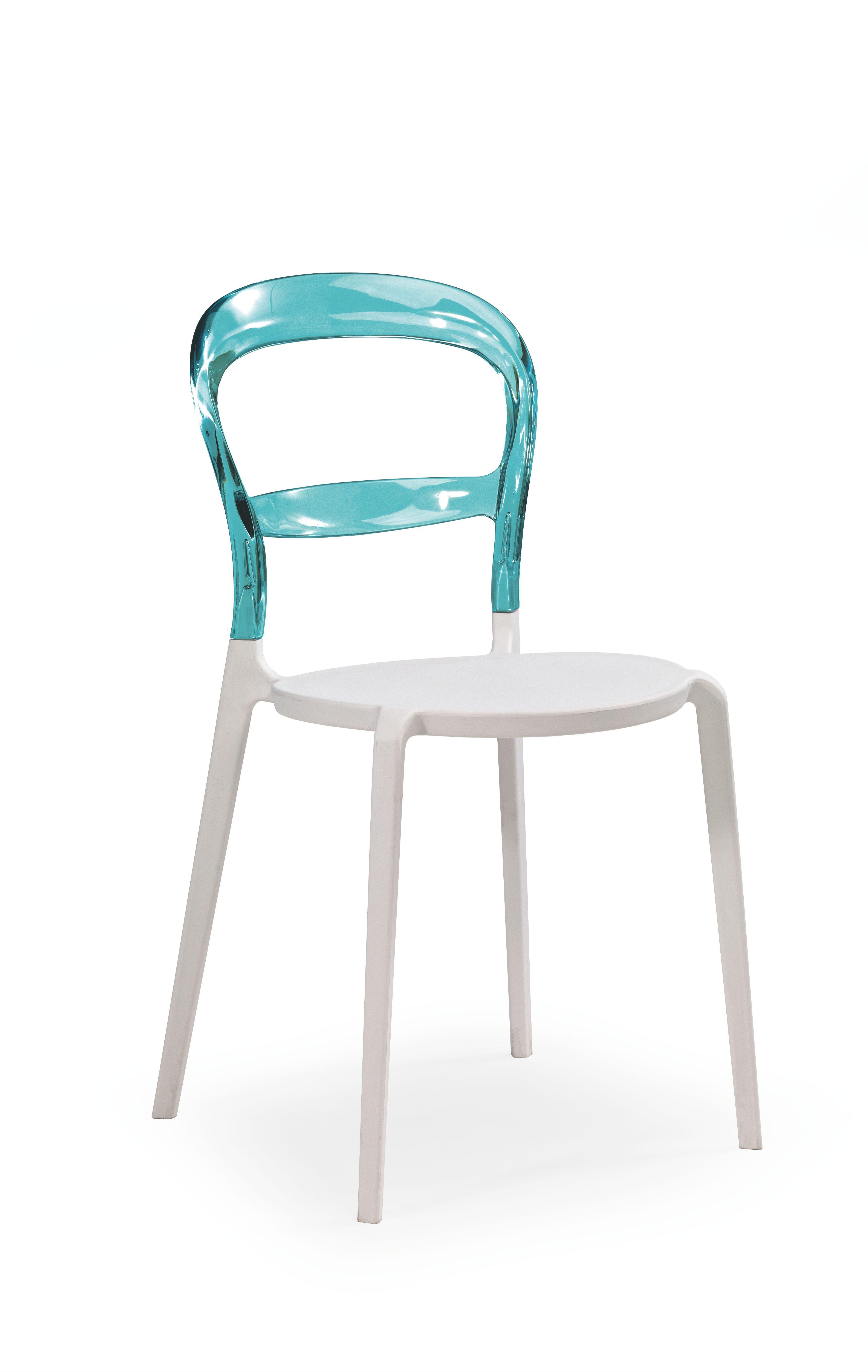 Plastikinė kėdė K100 blue