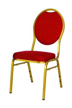 Banketinė kėdė RESO red