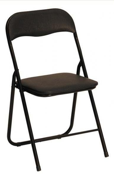 Sulankstoma kėdė K-5 juoda