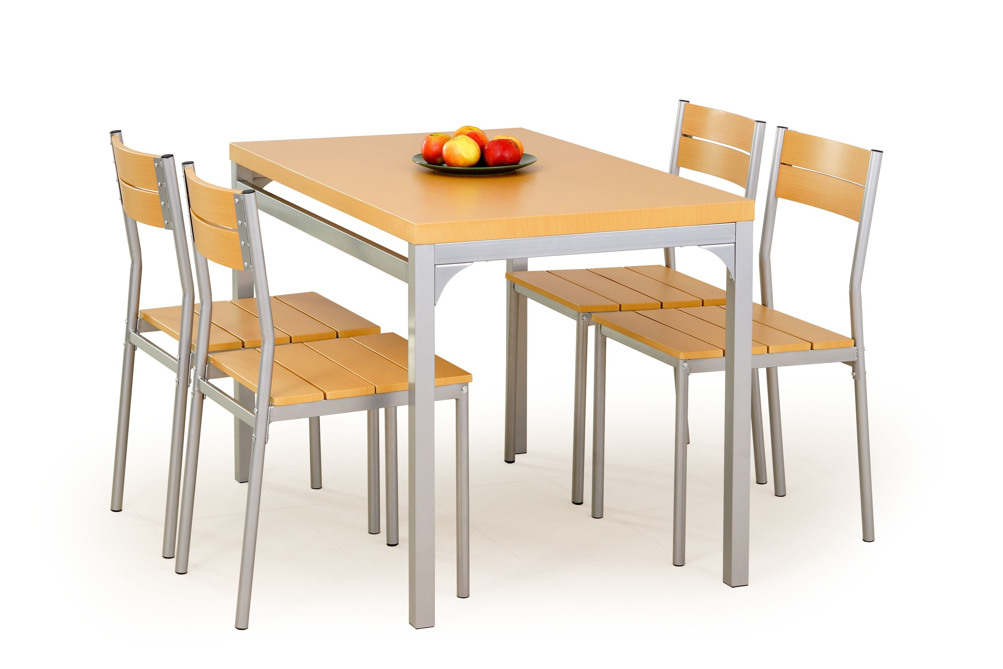 Stalas su kėdėmis MALCOLM alksnis