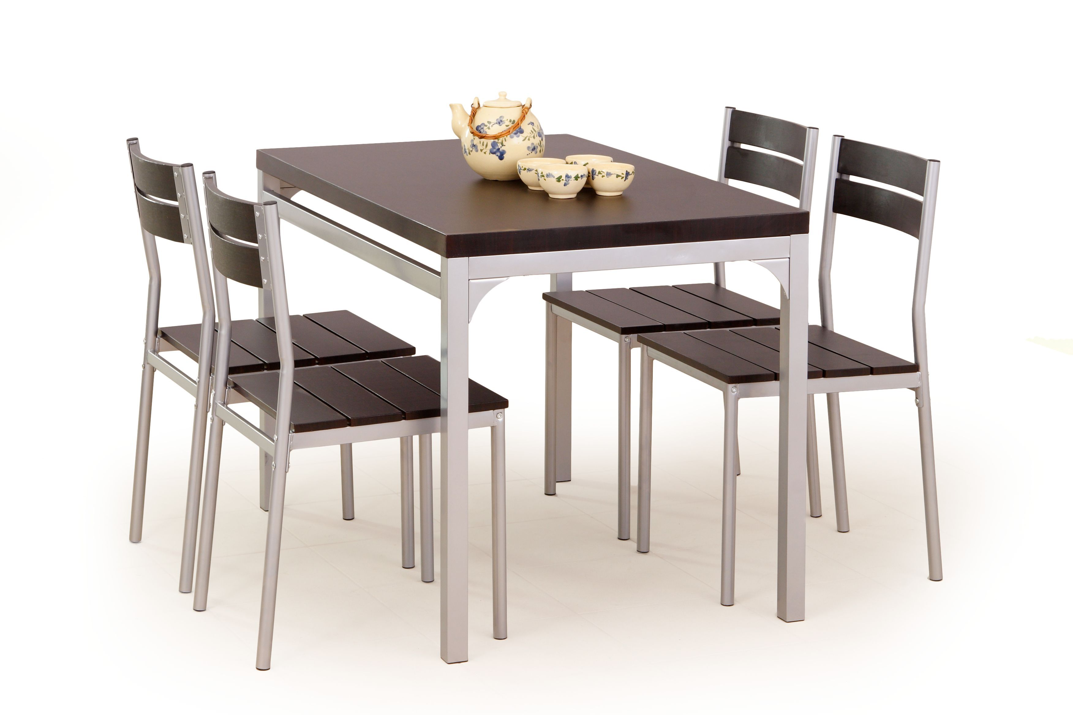 Stalas su kėdėmis MALCOLM venge
