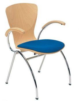 Kėdė BINGO arm seat plus chrome