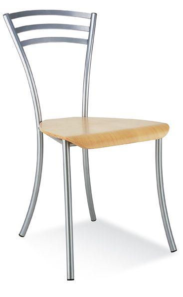 Kėdė MOLINO wood chrome