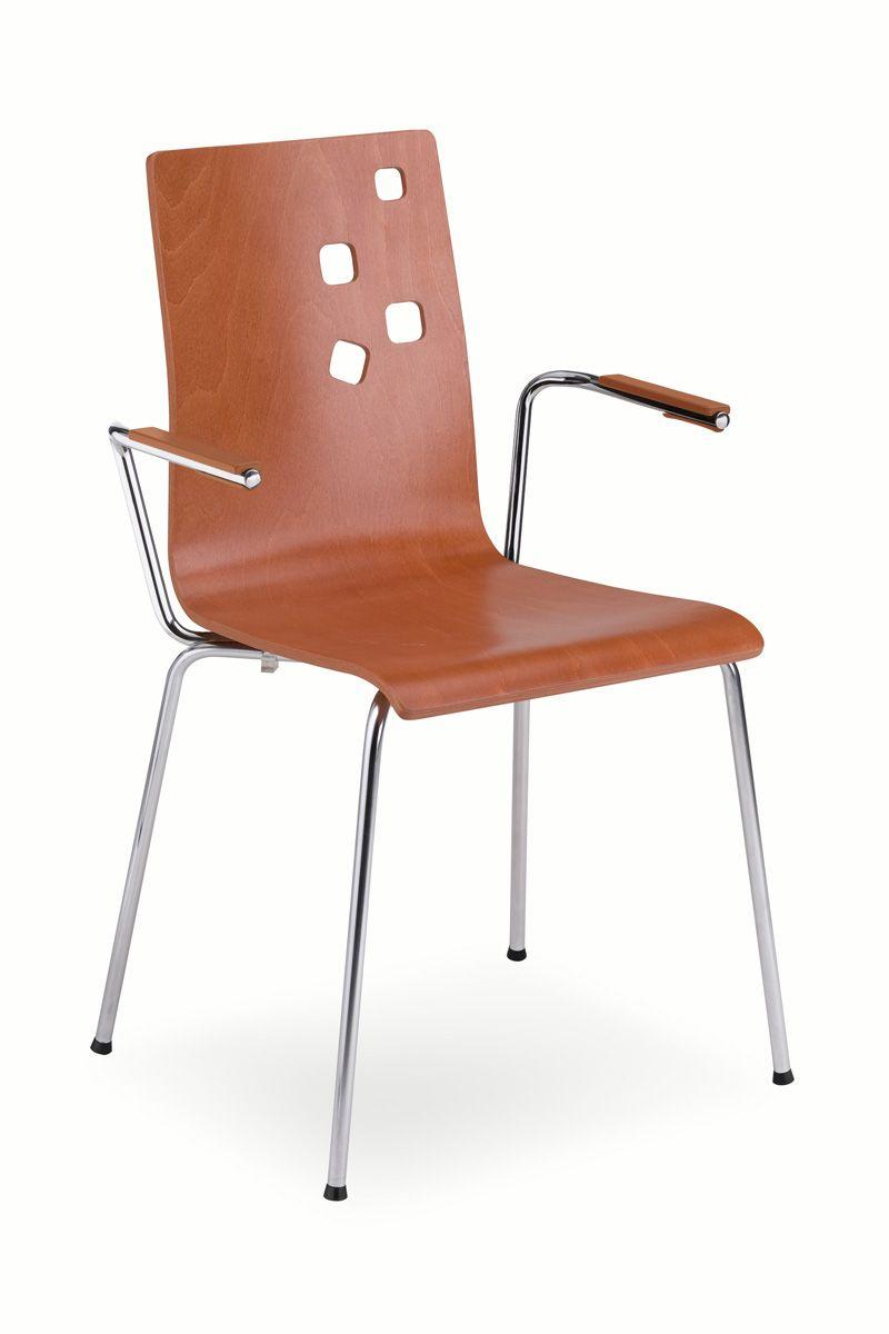 Kėdė AMMI arm chrome