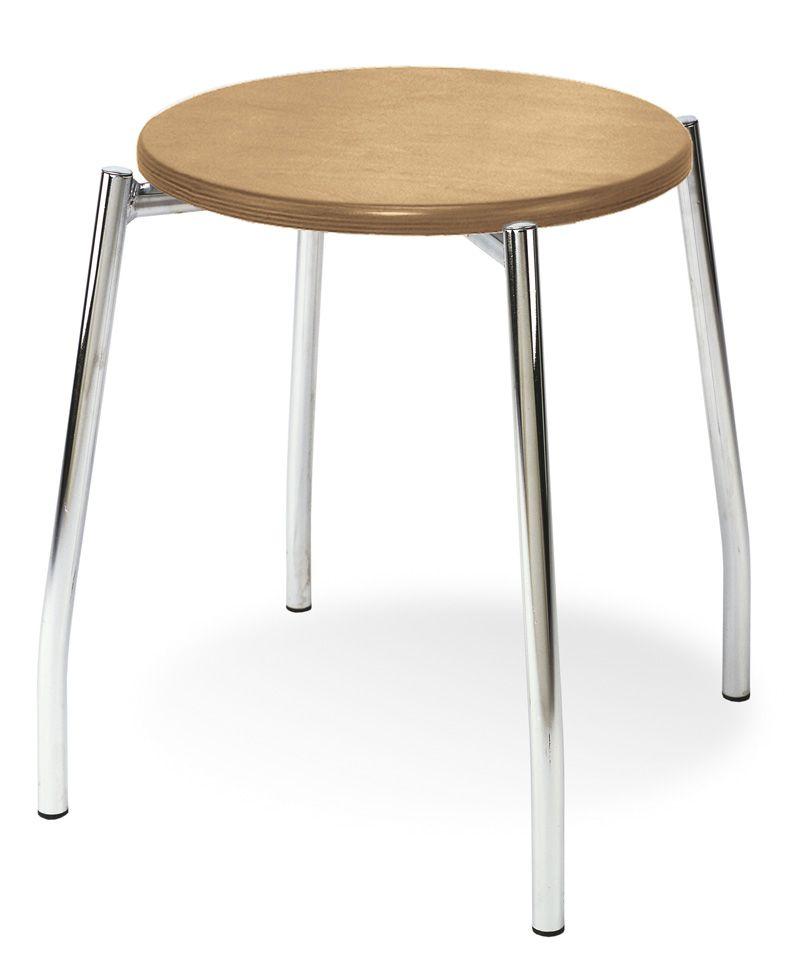 Kėdė GRAPPO wood chrome