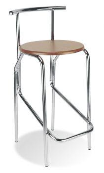 Kėdė JOLA 78 wood chrome