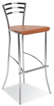 Kėdė MOLINO hocker wood chrome