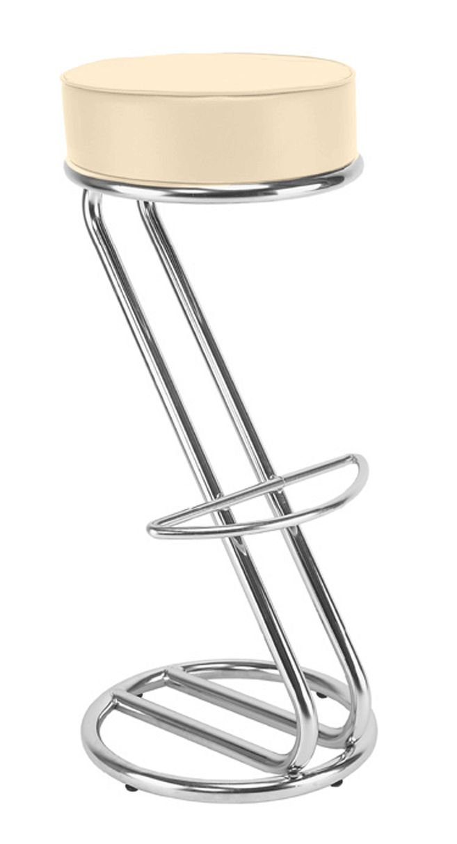 Kėdė ZETA hocker chrome