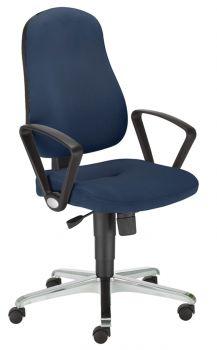 Biuro kėdė BIZZI gtp42 steel 36 chrome with an Active IN mechanism