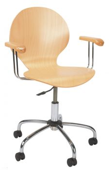 Biuro kėdė CAFE VI gtp chrome