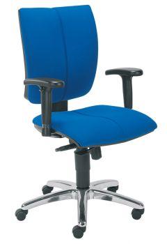 Biuro kėdė CINQUE R2C steel 12 chrome with an Imarc-670 mechanism