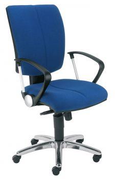 Biuro kėdė CINQUE gtp9 steel 12 chrome with an Imarc-670 mechanism