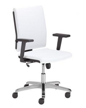 Biuro kėdė MADAME BLACK R19T steel 36 chrome ESH with a Tilt mechanism