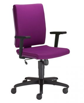 Biuro kėdė MADAME PURPLE R19T ts16 ESH with a Tilt mechanism
