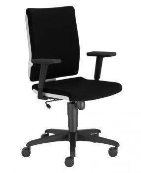 Biuro kėdė MADAME WHITE R19T ts16 ESH with a Tilt mechanism