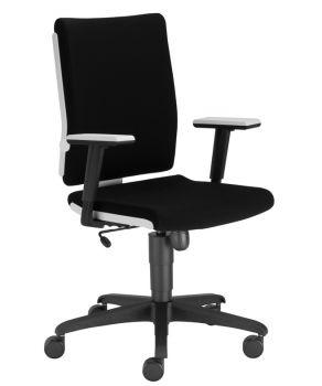 Biuro kėdė MADAME WHITE R19T2 ts16 ESH with a Tilt mechanism