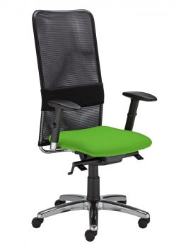 Biuro kėdė MONTANA HB LU R15G steel 11 chrome with an Epron Syncron Plus mechanism