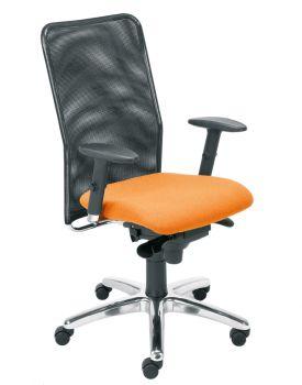Biuro kėdė MONTANA R15G steel 11 chrome with an Epron Syncron mechanism and seat sliding system