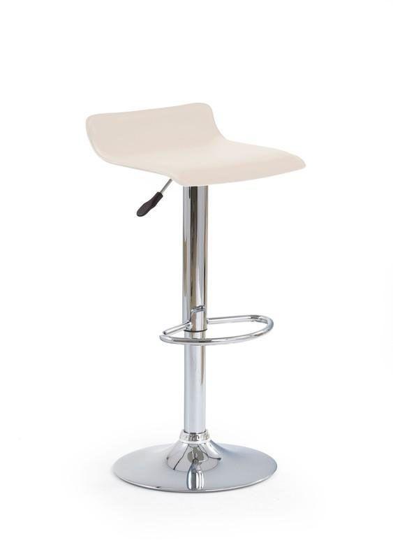 Baro kėdė H-1 kreminė