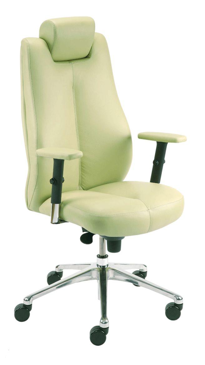 Vadovo kėdė SONATA lux SYNCHRO R15 steel 28 chrome with an Epron Syncron mechanism