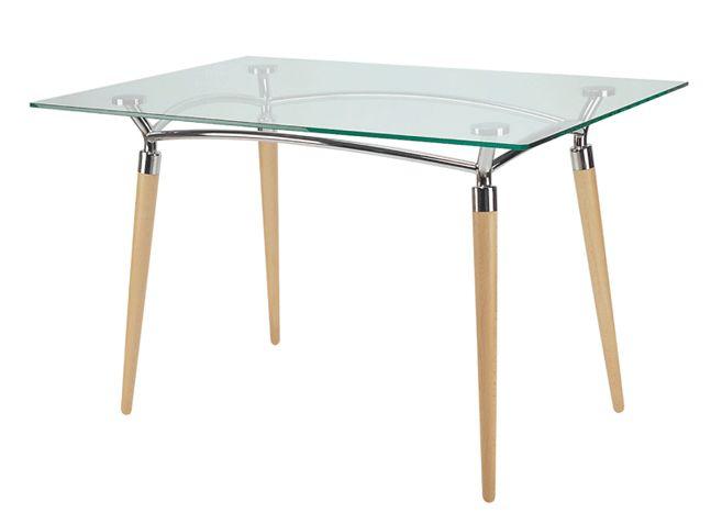 Stalas virtuvei ALGEO DUO table chrome