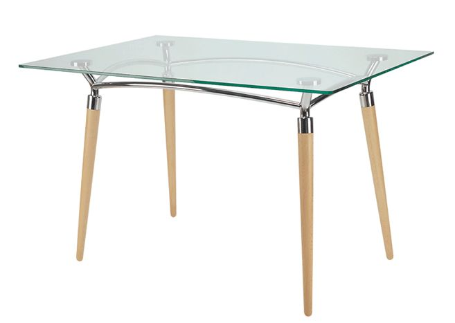 Stalas virtuvei ALGEO DUO table chrome