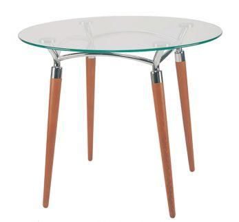Stalas virtuvei ALGEO table chrome 800