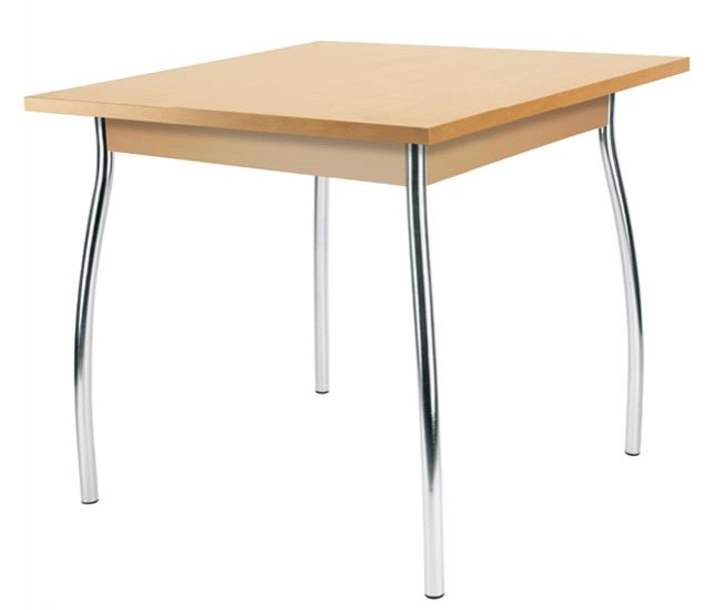 Stalas DORINO table chrome