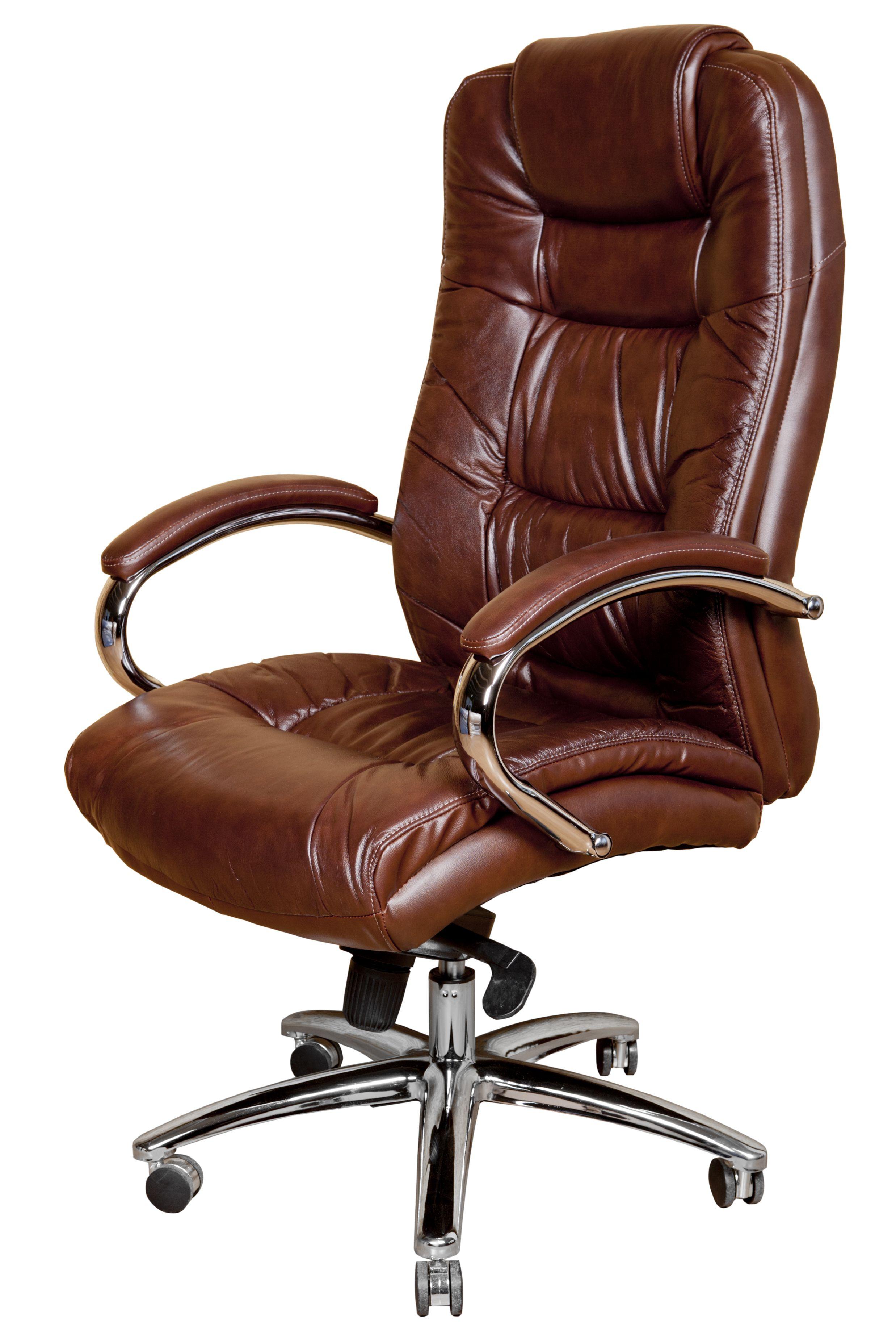 Biuro kėdė MONTEREY Premium pu ruda