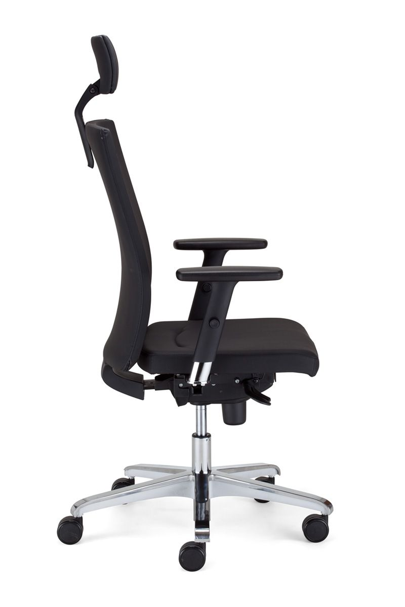 Biuro kėdė SIT.ON HRU R15K steel 36 chrome with an Epron Syncron machanism and seat sliding system