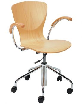 Kėdė BINGO wood gtp chrome