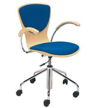 Kėdė BINGO wood plus gtp chrome