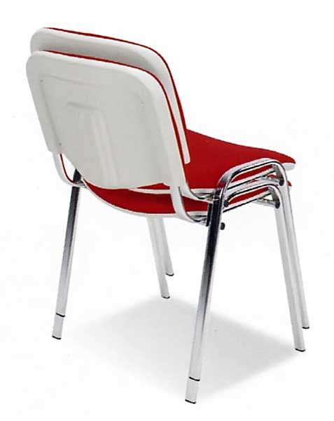 Kėdė ISO bianco chrome
