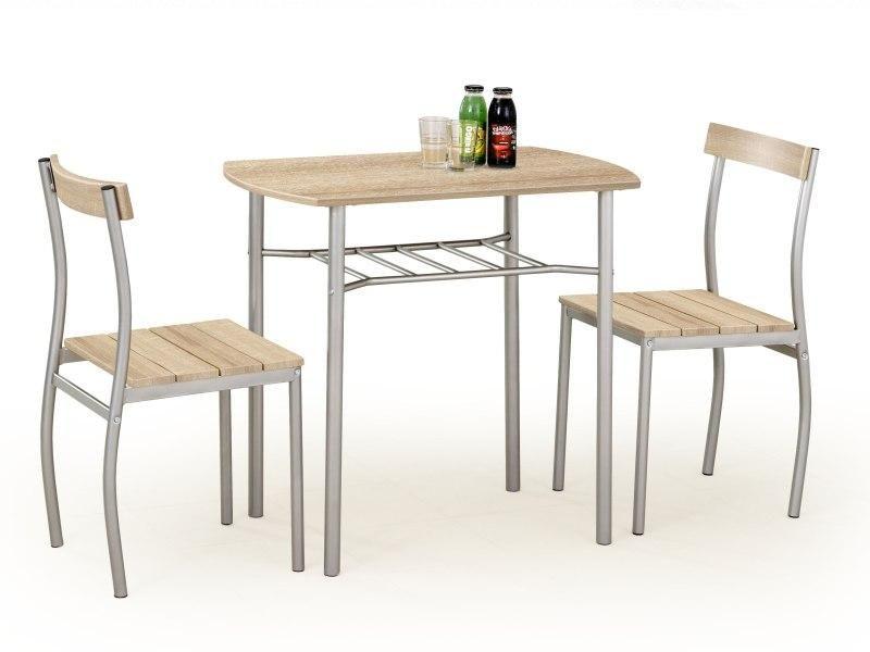 Stalas su kėdėmis LANCE sonoma