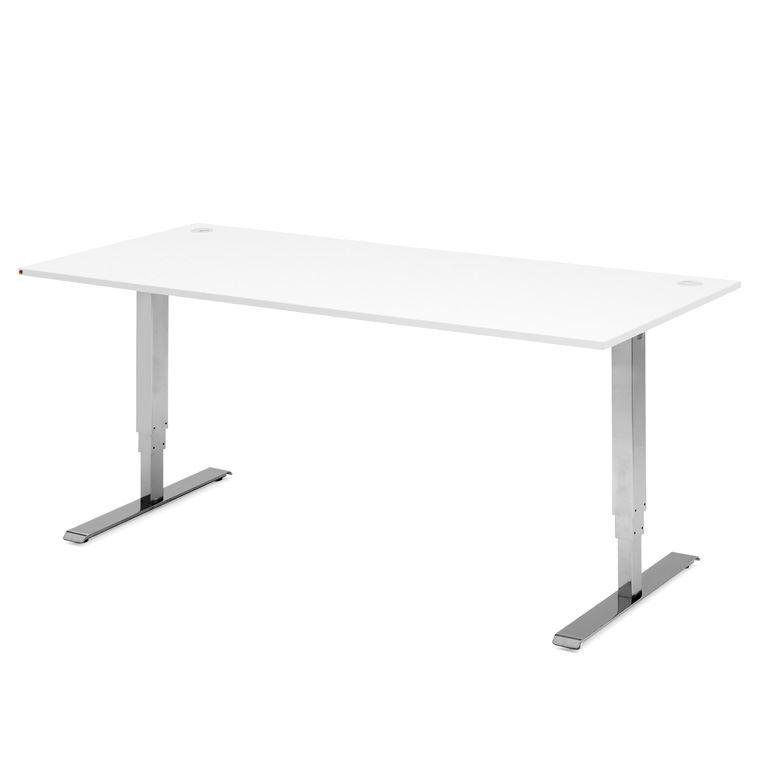 Reguliuojamo aukščio tiesus stalas Adeptus Chromuotas/1200