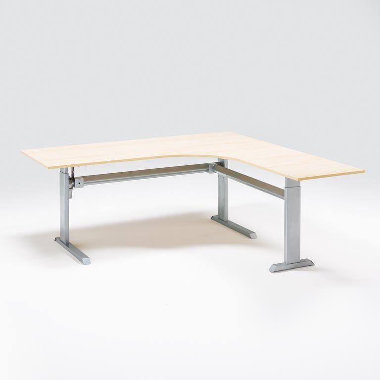 Biuro stalas Flexus, L formos Dešinė/1600