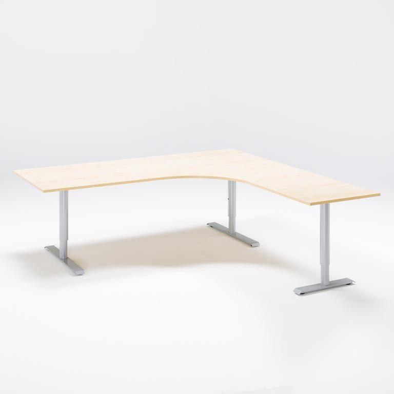 Elektra reguliuojmo aukščio stalas Adeptus II 1800/Alu/Dešinė