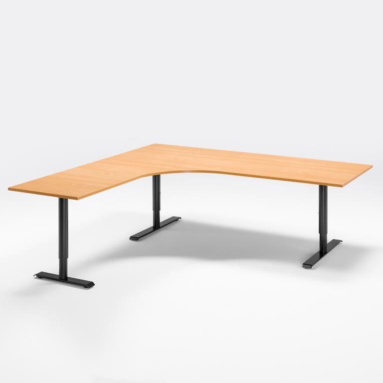 Elektra reguliuojmo aukščio stalas Adeptus II 1800/Juoda/Kairė