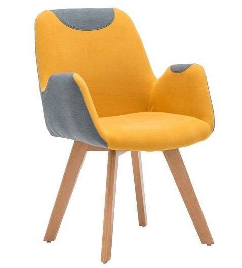 Kėdė SAFARI garstyčios