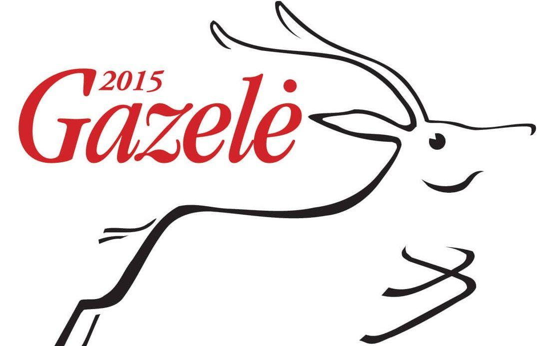 Gazėlė 2015