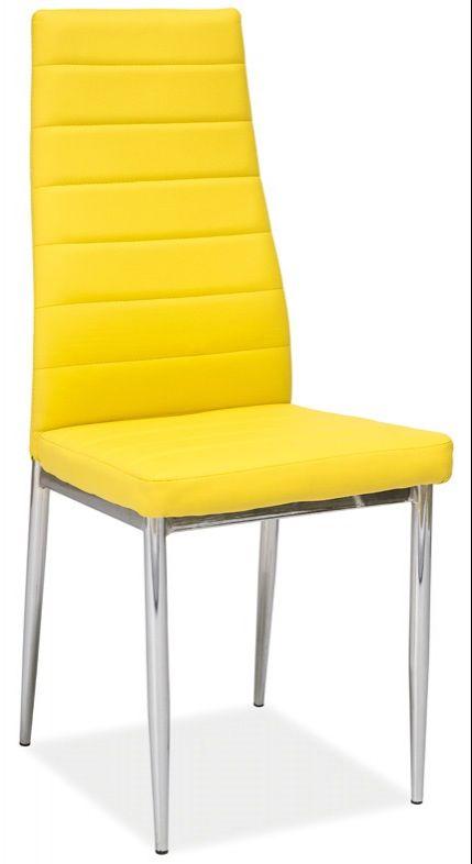 Virtuvinė kėdė H-261 geltona