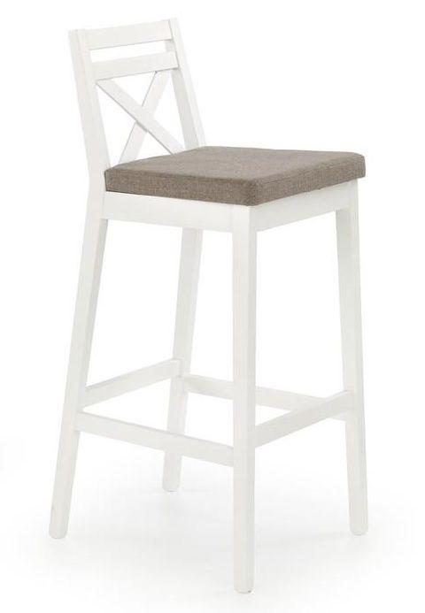 Baro kėdė BORYS balta