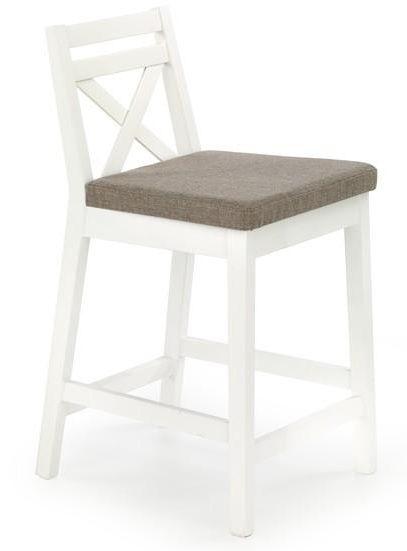 Pusbario kėdė BORYS balta