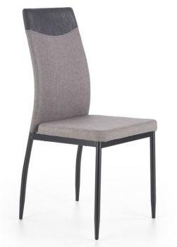 Kėdė K276 pilka su juodu